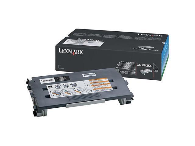 LEXMARK C500H2KG Toner Cartridge For C500, X500, X502 Black