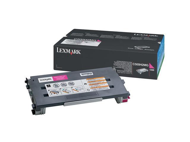 LEXMARK C500H2MG Toner Cartridge For C500, X500, X502 Magenta