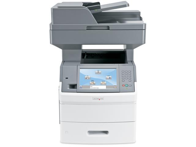 Lexmark X Series X654de MFP MFC / All-In-One Up to 55 ppm 1200 x 1200 dpi Color Print Quality Monochrome Laser Printer