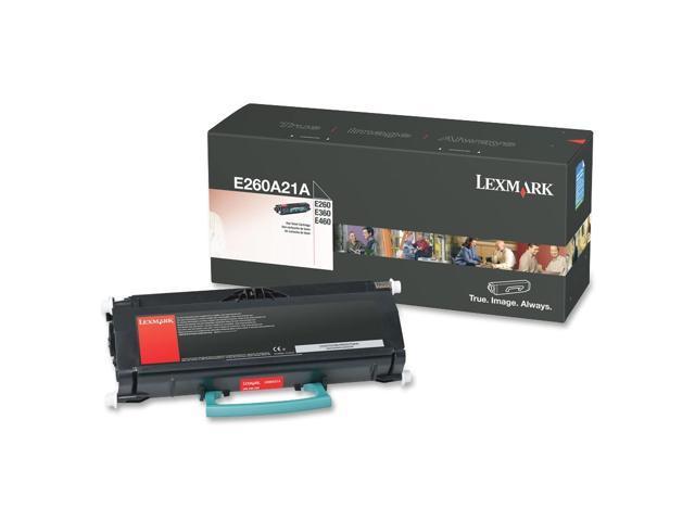 Lexmark (E260A21A) standard yield toner cartridge for E260, E360, E46x; black