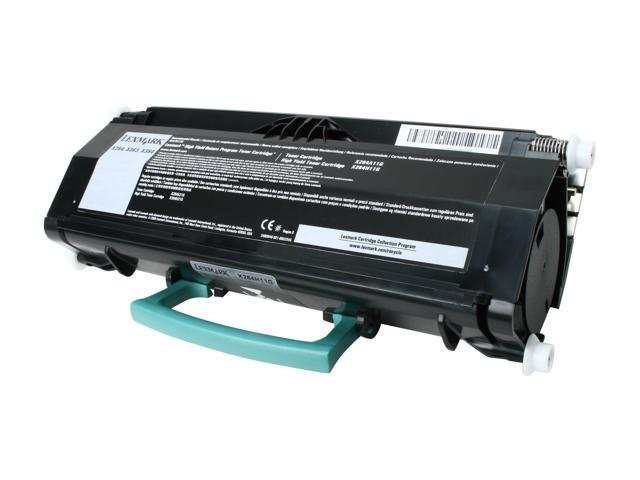Lexmark X264H11G High Yield Return Program Toner Cartridge - Black