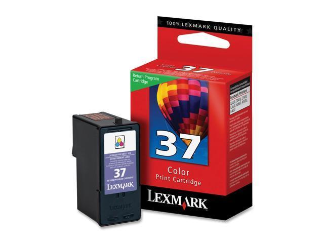 Lexmark 18C2140 #37 Color Return Program Print Cartridge for Z2420, X3650, X4650