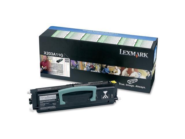 LEXMARK X203A11G Return Program Toner Cartridge Black