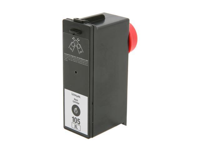 LEXMARK 14N0822 No. 105XL High Yield Return Program Ink Cartridge Black