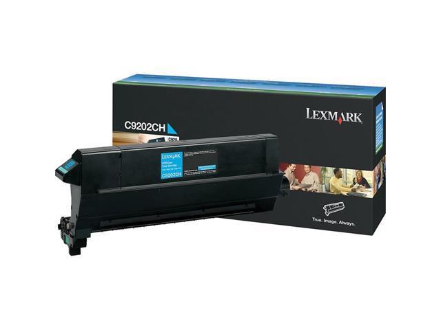 LEXMARK C9202CH Toner Cartridge Cyan