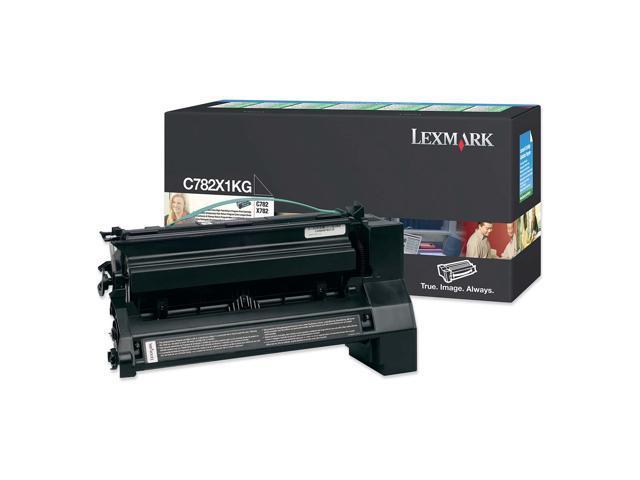 LEXMARK C782X1KG Toner Cartridge Black