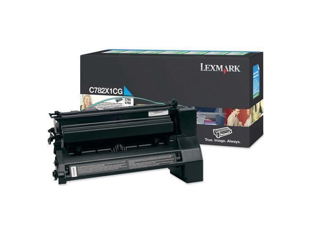 LEXMARK C782X1CG Toner Cartridge Cyan