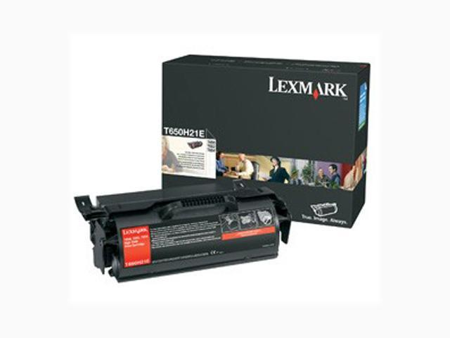 LEXMARK T650H21A High Yield Toner Cartridge Black