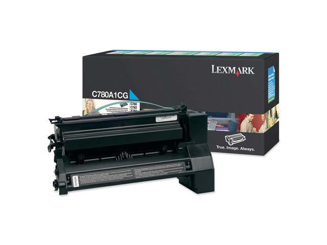 Lexmark C780A1CG Cyan Toner Cartridge