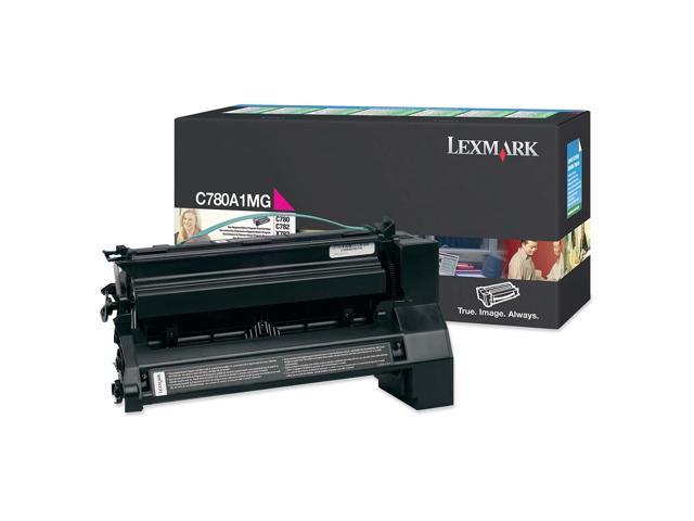 Lexmark C780A1MG Magenta Toner Cartridge