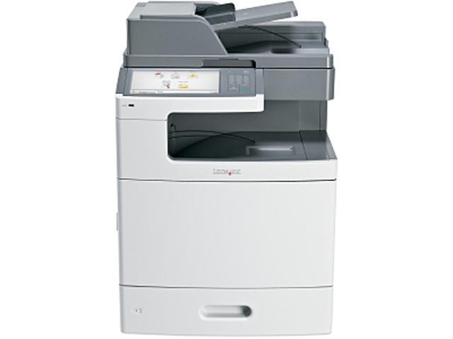 Lexmark X792de 47B1000 MFC / All-In-One Up to 50 ppm 2400 x 600 dpi Color Print Quality Color Laser Printer