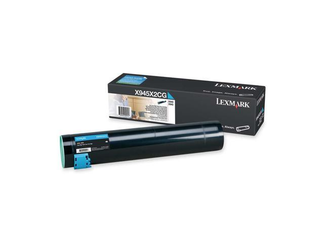 LEXMARK X945X2CG High Yield Toner Cartridge Cyan