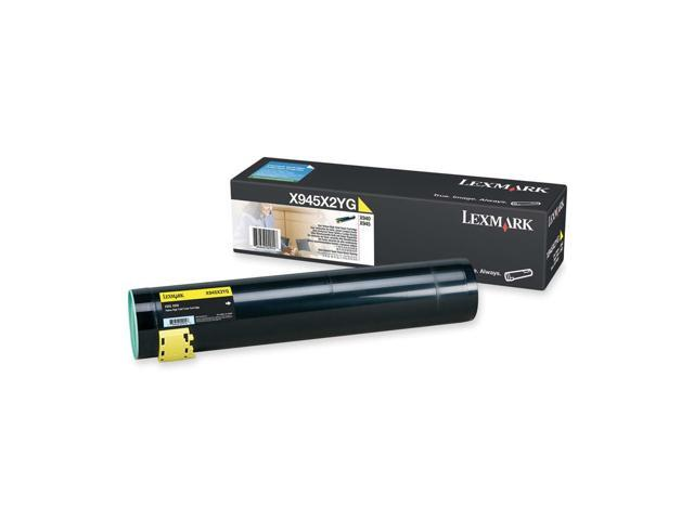 LEXMARK X945X2YG High Yield Toner Cartridge Yellow