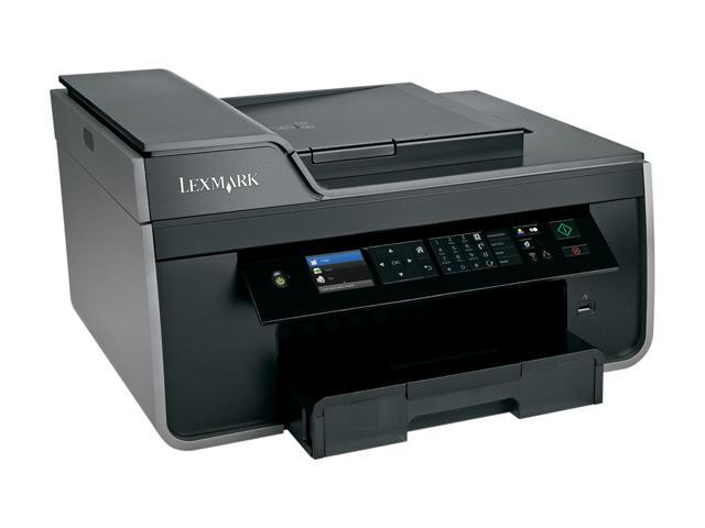 LEXMARK Pro715 Up to 35 ppm Black Print Speed 4800 x 1200 dpi Color Print Quality Wireless Thermal Inkjet MFC / All-In-One Color Printer