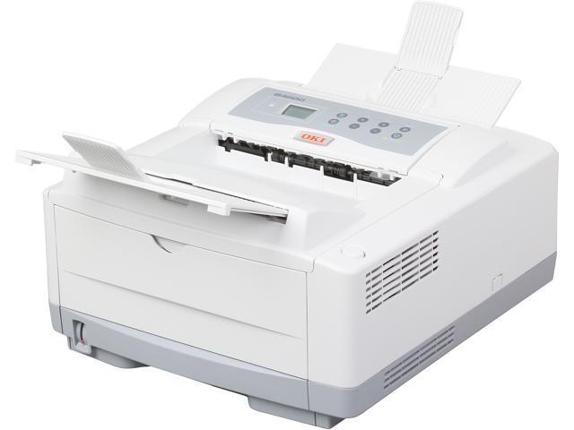 OKIDATA B4600 (120V) Personal Up to 27 ppm Mono LED Printer (62427201)