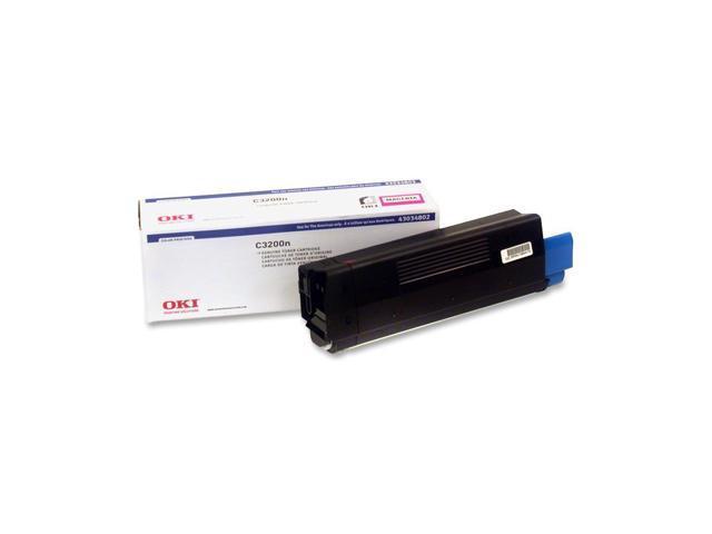OKI 43034802 Laser Toner Cartridge; Magenta