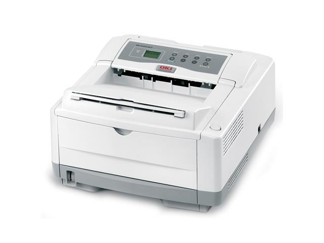 OkiData B4600n White Monochrome Laser Printer
