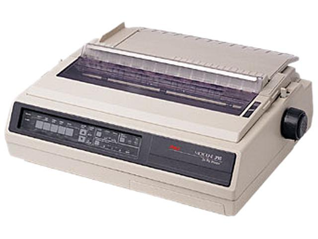 OKIDATA MICROLINE 395 (62410501) - Parallel & Serial 24 pin 120V Up to 610cps Dot Matrix Printer