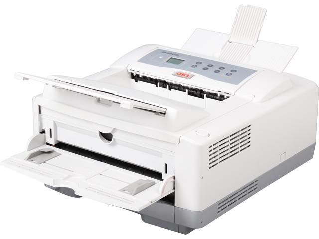 OkiData B4600 White Monochrome Laser Printer