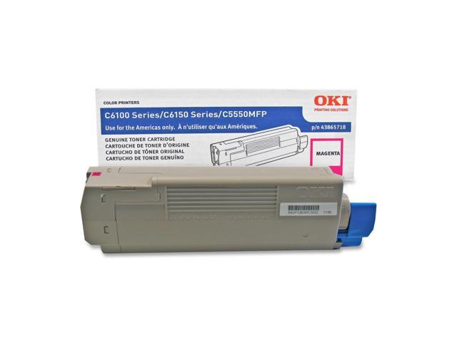OKIDATA 43865718 Toner Cartridge Magenta