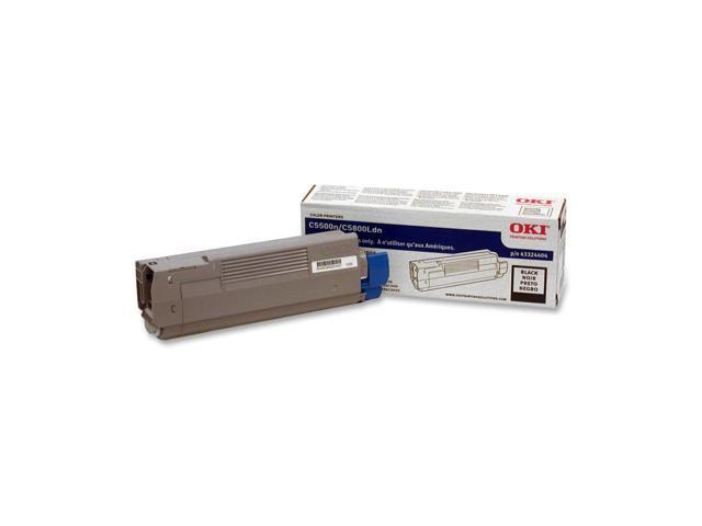OKI 43324404 High Yield Laser Toner Cartridge; Black