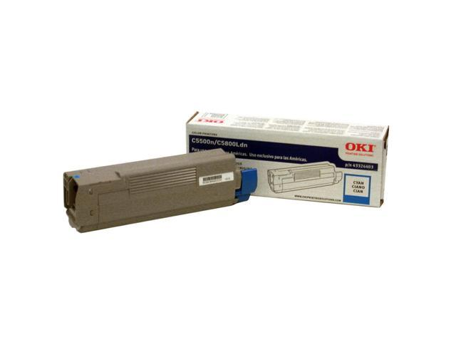 OKIDATA 43324403 Toner Cartridge Cyan