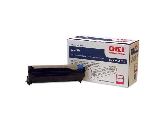 OKIDATA 43460202 Toner Cartridge Magenta