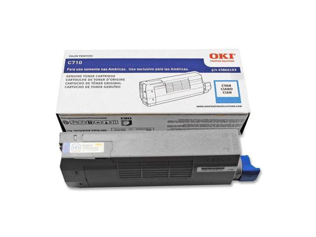 OKIDATA 43866103 Toner Cartridge Cyan