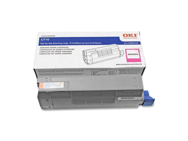 OKIDATA 43866102 Toner Cartridge Magenta