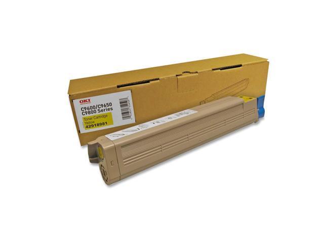 OKIDATA 42918981 Toner Cartridge Yellow