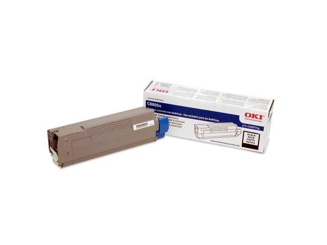 OKIDATA 43487736 Toner Cartridge Black