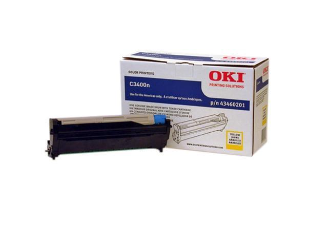 OKIDATA 43460201 Toner Cartridge Yellow