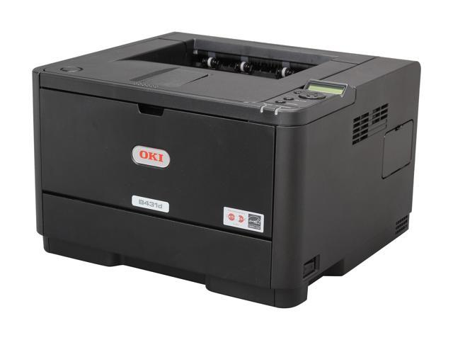 Okidata B400 B431D Workgroup Monochrome LED Printer Black