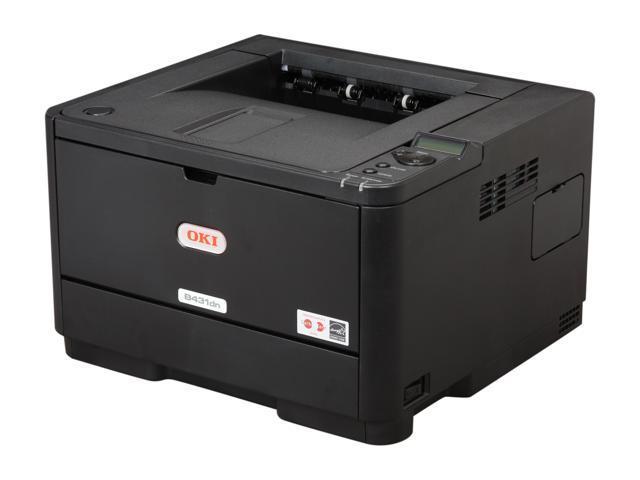 Okidata B431dn Plain Paper Print Monochrome LED Printer