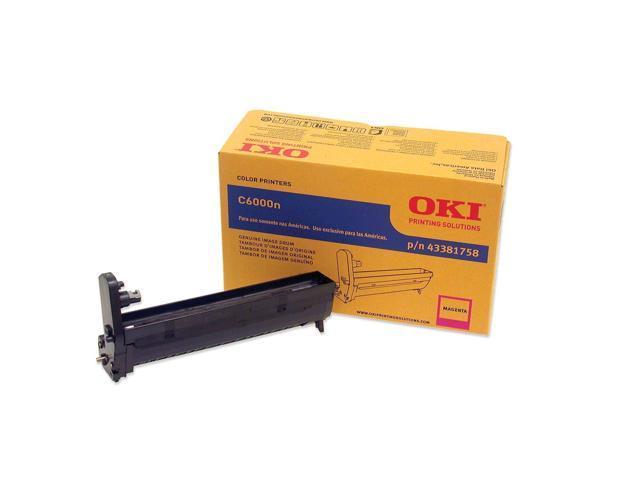 OKIDATA 43381758 Image Drum for C6000n and C6000dn Printers