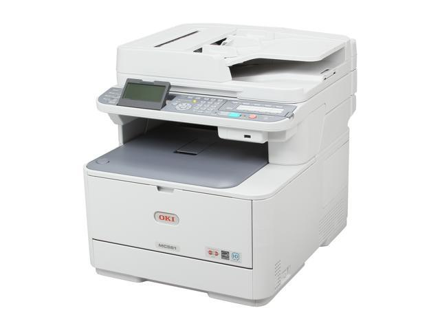 OKIDATA MC561 MFP/ All-In-One Up to 31 ppm Color LED Network Printer (62435801)