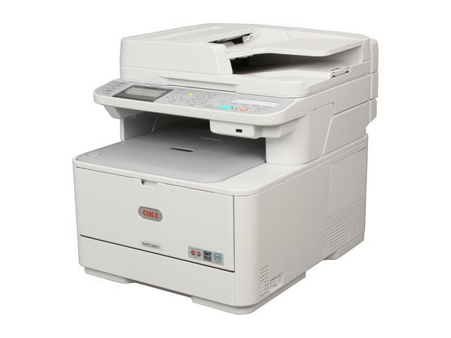 Okidata Mc361 Mfp All In One Up To 25 Ppm Color Led