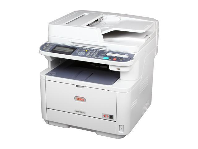 OkiData MB471w Wireless Monochrome Multifunction Laser Printer