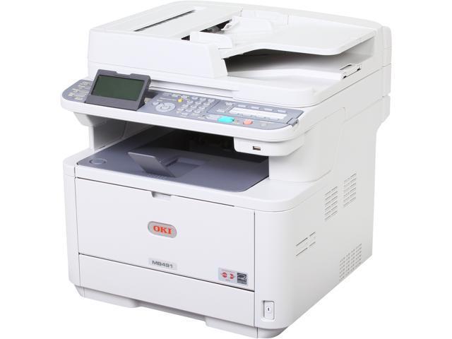 Okidata MB491 MFP MFC / All-In-One Monochrome Laser Printer