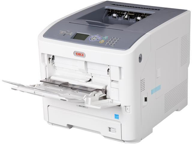 OkiData B731dn Workgroup Monochrome Laser Printer