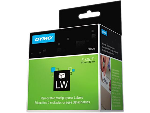 DYMO 30370 Multipurpose Labels, 2 x 2 5/16, White, 250/Box