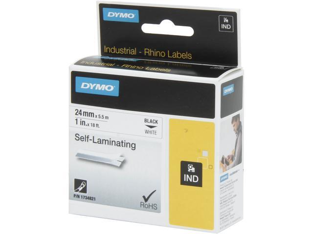 DYMO 1734821 Self Laminating Thermal Label - 1