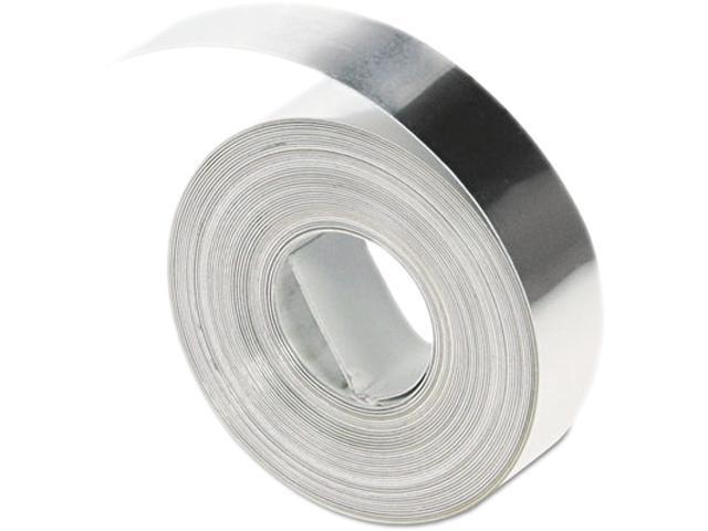 """DYMO 31000 1/2"""" Non Adhesive Aluminum Tape, 16' long, 1 roll per box"""