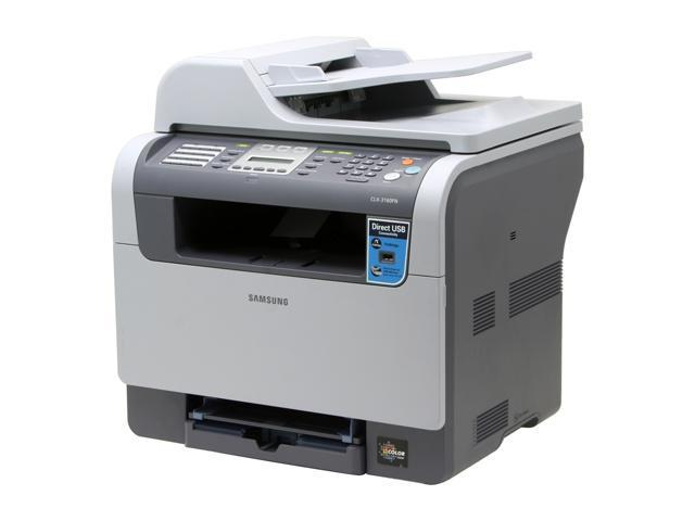 SAMSUNG CLX-3160FN MFC / All-In-One Up to 17 ppm Color Laser Printer