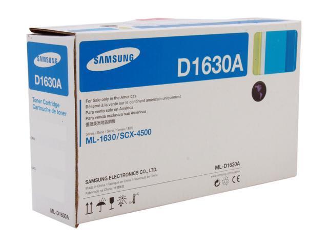 SAMSUNG ML-D1630A/XAA Black Cartridge for ML-1630 and SCX-4500
