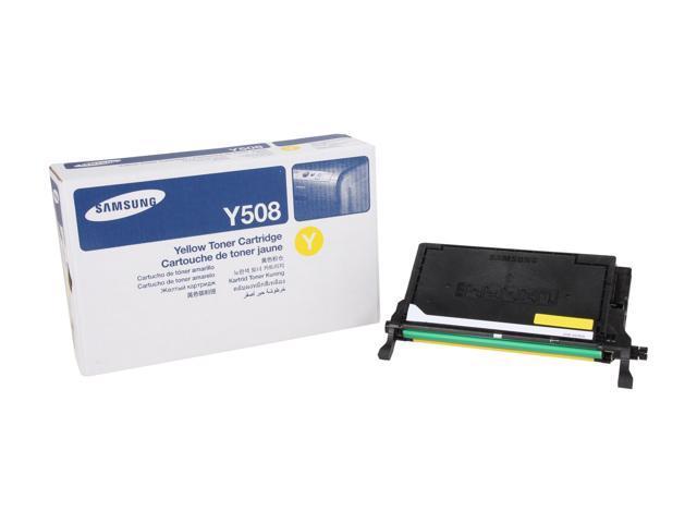 SAMSUNG CLT-Y508S, Y508 Toner Cartridge Yellow
