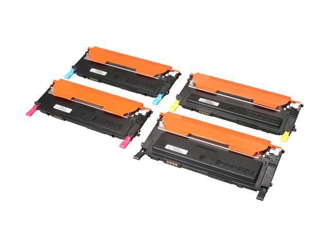 SAMSUNG CLT-P409C, P409C Value pack toner for CLP-315, CLP-315W, CLX-3175FN, CLX-3175FW Cyan, Magenta, Yellow, Black