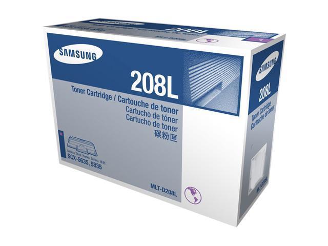 SAMSUNG MLT-D208L, 208L Toner for printers SCX-5635FN, SCX-5835FN Black