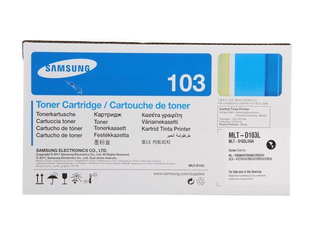 SAMSUNG MLT-D103L Toner Cartridge for printers ML-2955, SCX-4729; Black