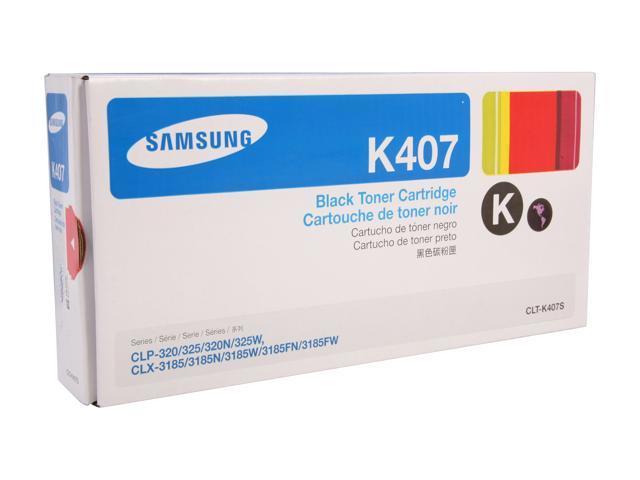SAMSUNG CLT-K407S, K407 Toner Black